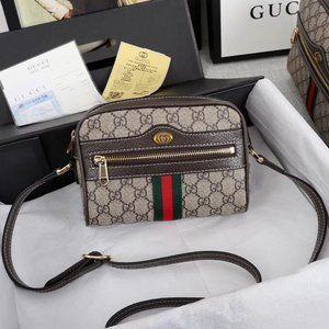 dan Authentic Gucci Ophidia Supreme Small Shoulder